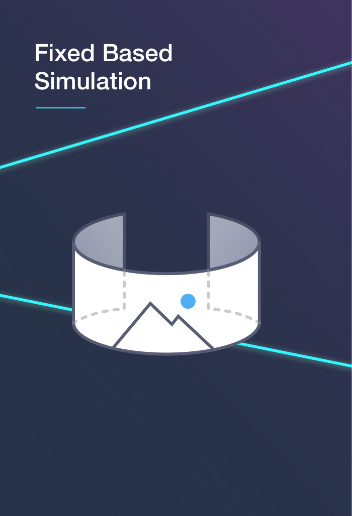 Fixed based simulation