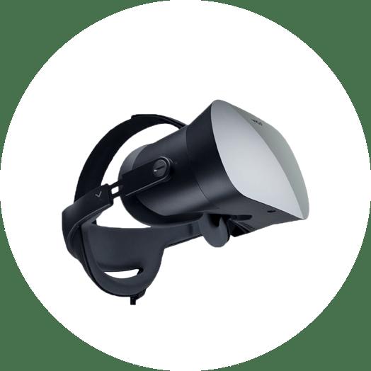 Varjo VR eye tracker