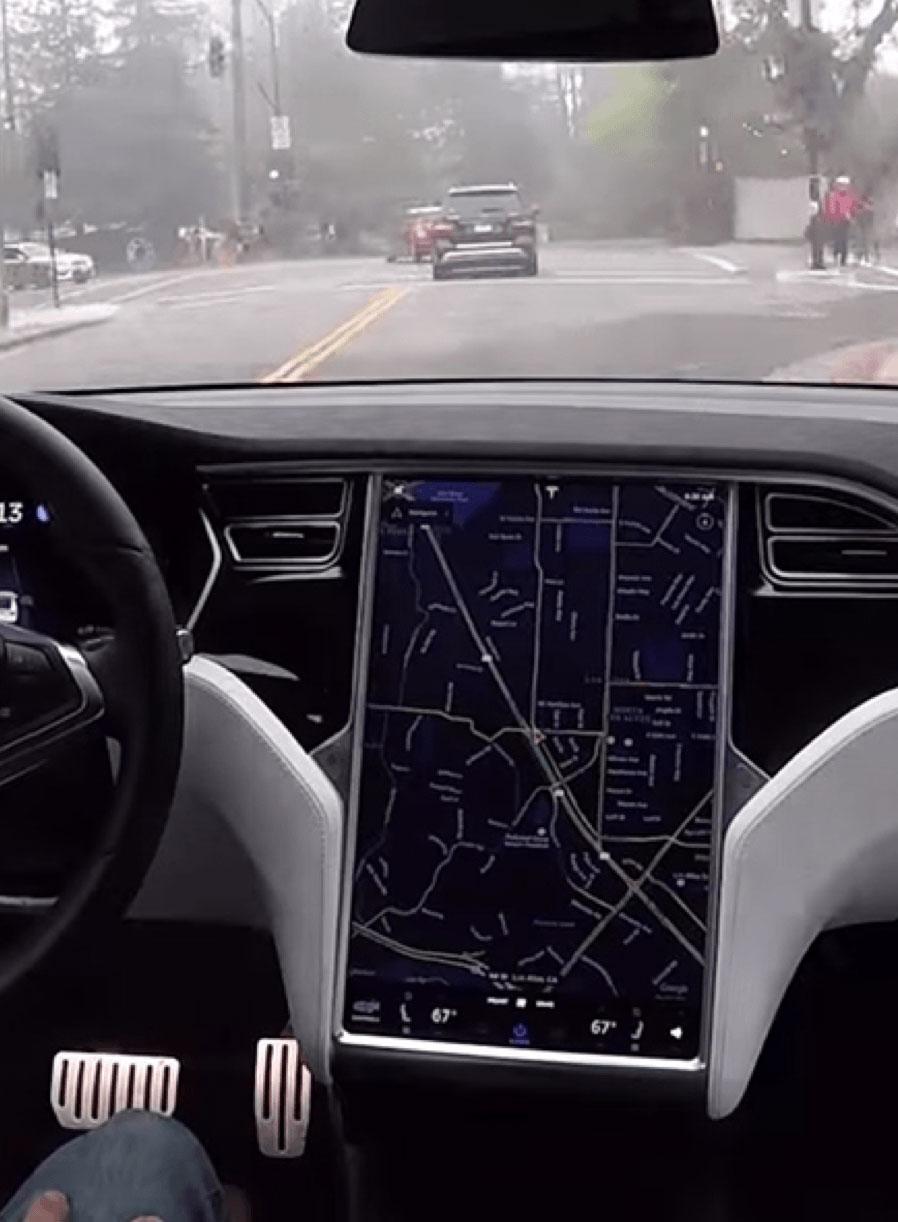 Automotive dashboard or aircraft cockpits